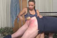Ashley Luvbug Spanks Her Uncle