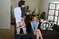Mother Spanks Kade Day 1