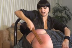 Bettie the Boss Spanks Her Employee