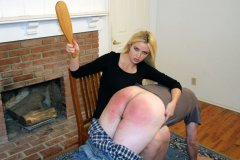 Bridesmaid Gigi Gives Him Another Spanking