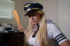 Gigi Allens is a Strict Pilot