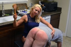 Gigi Allens Spanks Her Husband Again