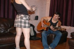 Kay and Anthony in Spanked Rocker Boy