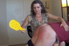 Office Son-in-Law Spanking