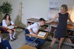Patrick and his Classmates Spanked by Clare Fonda