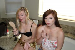 Sunny & Mary Jane Punish Their Client